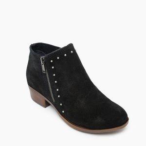 MINNETONKA WOMEN'S BRIE BLACK ANKLE BOOT SZ 8.5